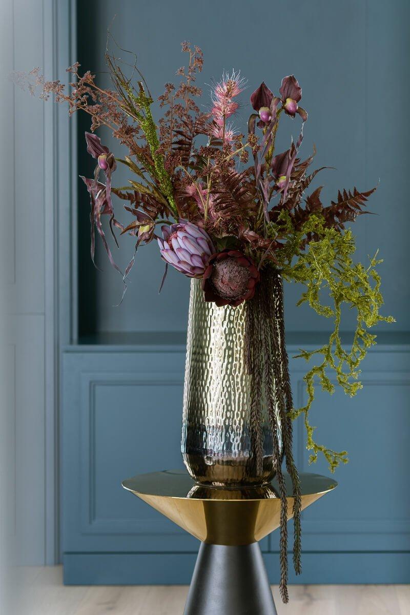 autumn artificial flowers arragement