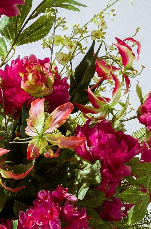 summer artificial flowers glorioza