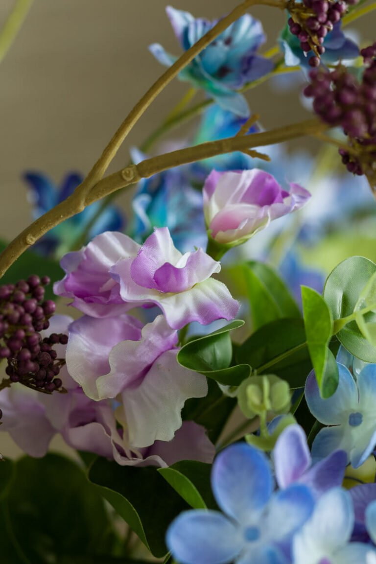 summer artificial flowers collection