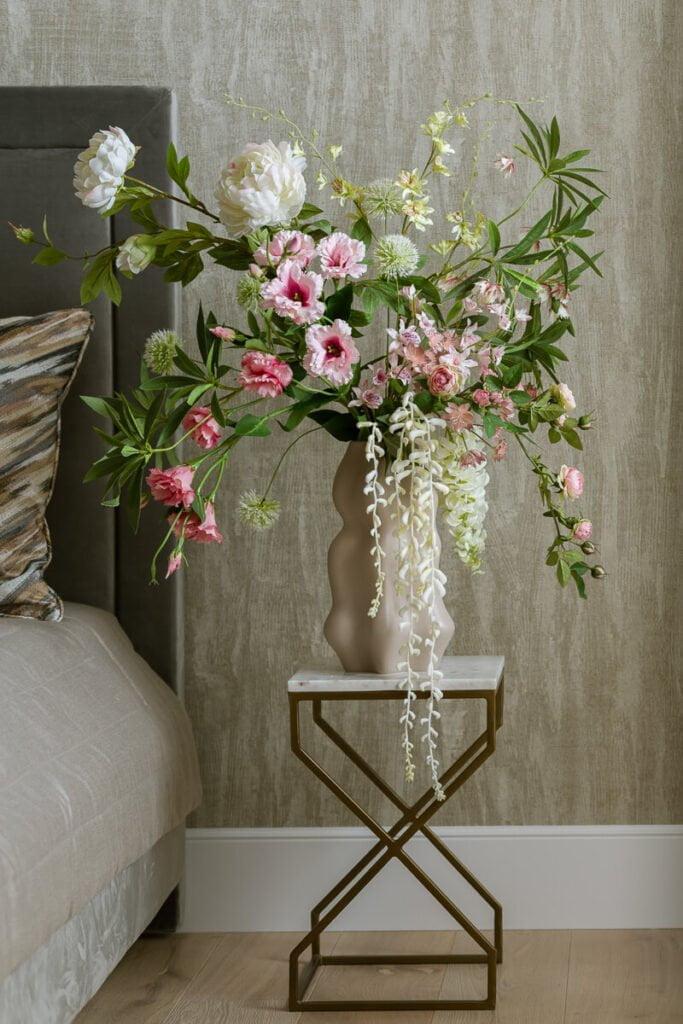 summer artificial flowers arragement