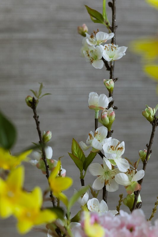 silk appple blossom