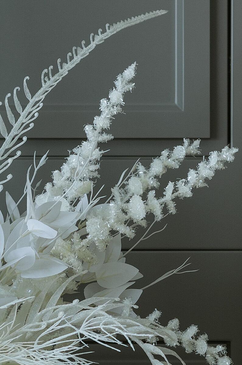 christmas silk flowers and plants