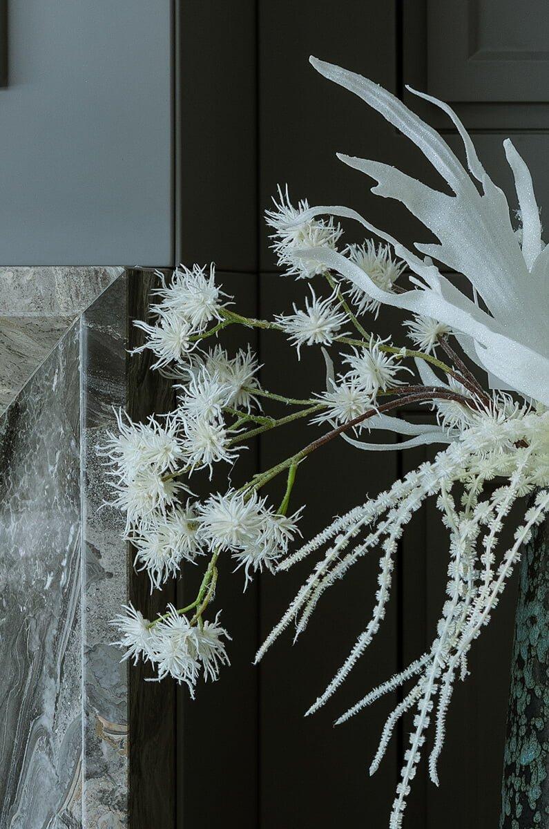 winter artificial flowers